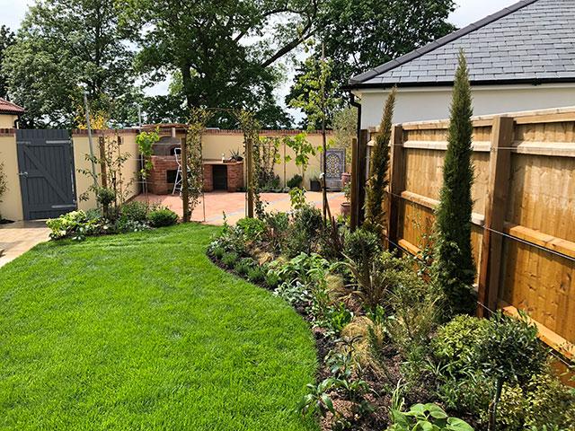 Mediterranean Garden Design Bradford-on-Avon