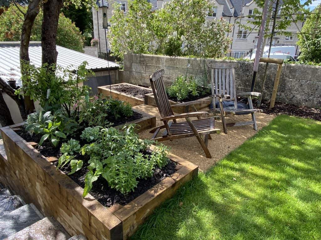 Long Family Garden - Wiltshire - Compass Garden Design